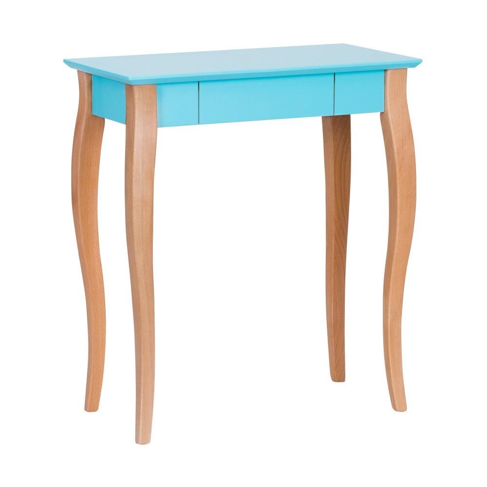 Tmavě tyrkysový psací stůl Ragaba Lillo, délka 65 cm