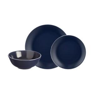 12dílný set tmavě modrého kameninového nádobí Mason Cash Classic Collection