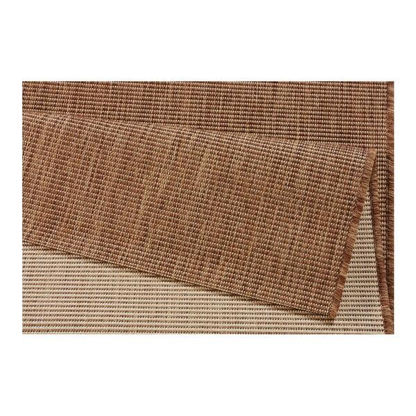Hnědý koberec vhodný do exteriéru Bougari Match, 120x170cm