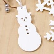 Vánoční ozdoba Design Ideas Artic Snowman
