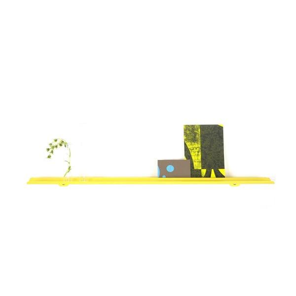 Nástěnná police Tab Shelf by Phil Procter, žlutá