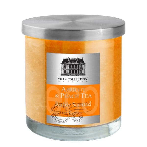 Vonná svíčka, oranžová, 45 hodin hoření