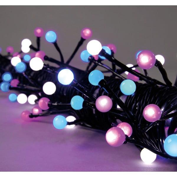 Svítící dekorace Beads Pink/White/Blue