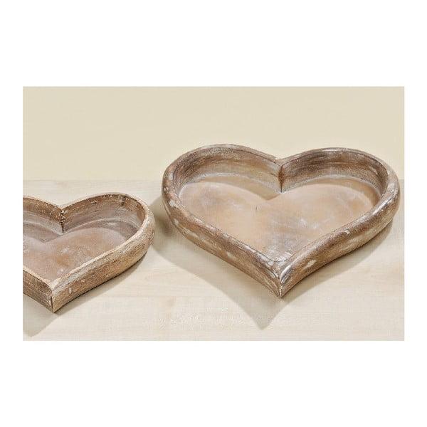 Set 2 táců Hearts