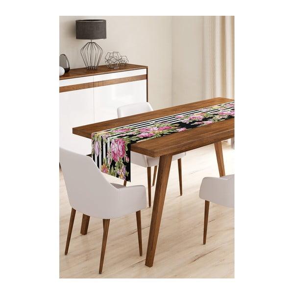 Elegant Flowers mikroszálas asztali futó, 45 x 145 cm - Minimalist Cushion Covers