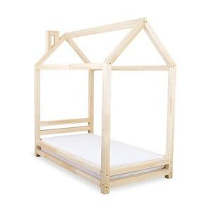 Dětská postel z přírodního smrkového dřeva Benlemi Happy,90x160cm