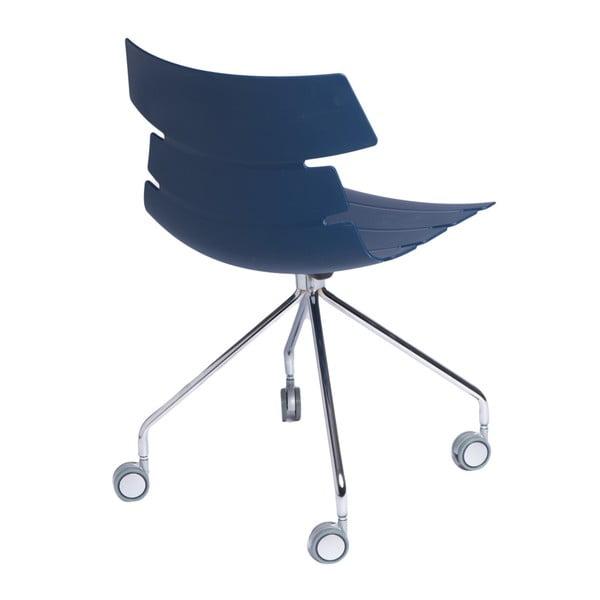 Sada 2 modrých židlí D2 Techno Roll