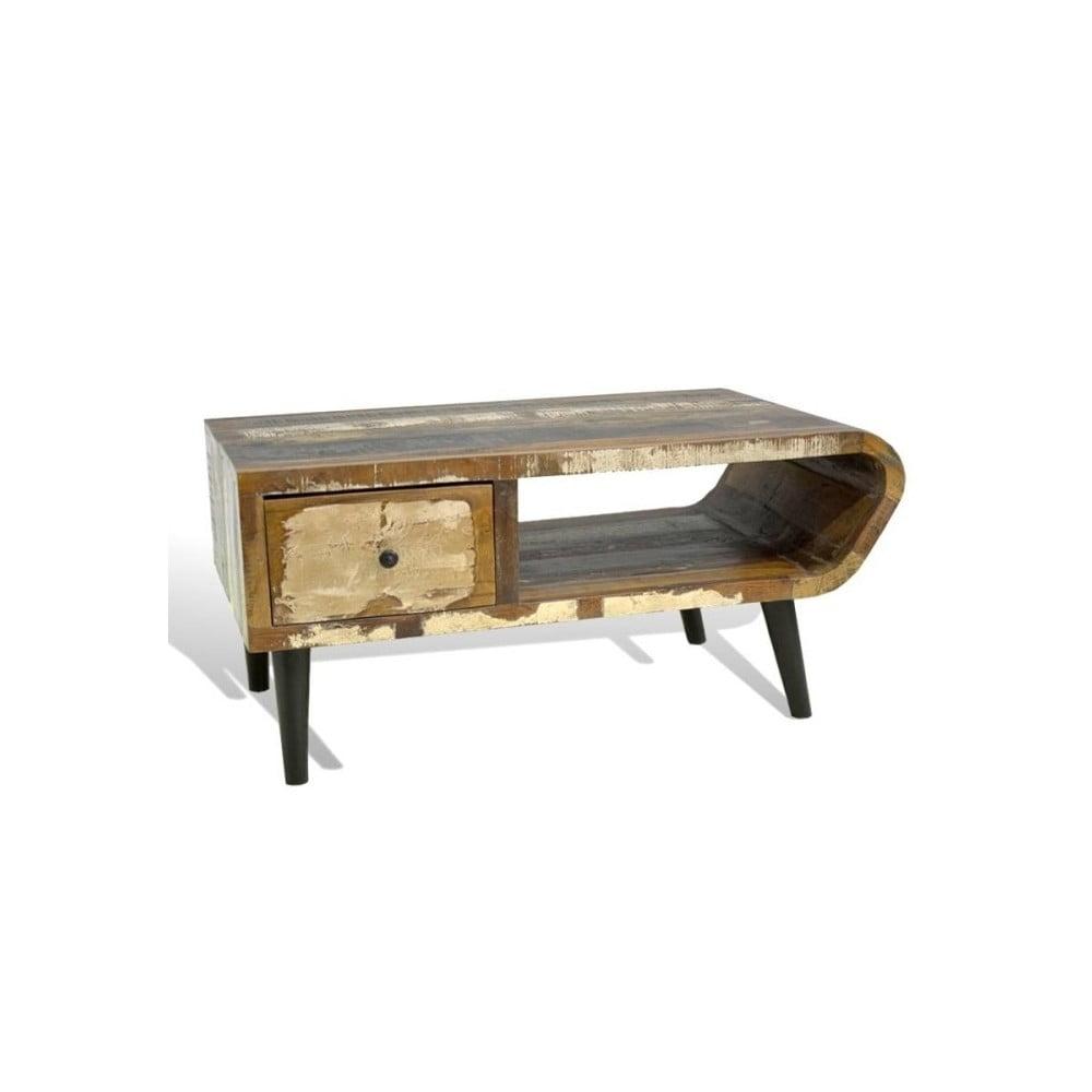 Konferenční stolek z palisandrového dřeva SOB Heat