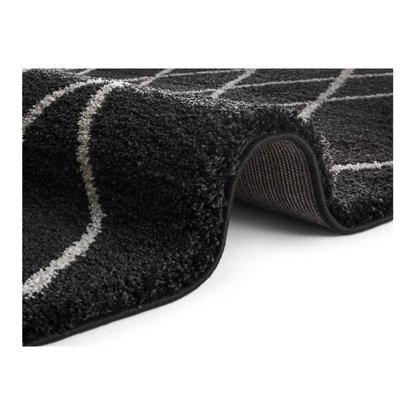 Antracitový koberec Elle Decor Passion Bron, 160 x 230 cm