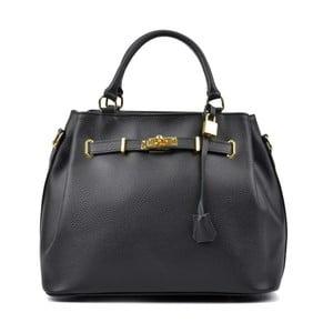 Černá kožená kabelka Isabella Rhea Mahno