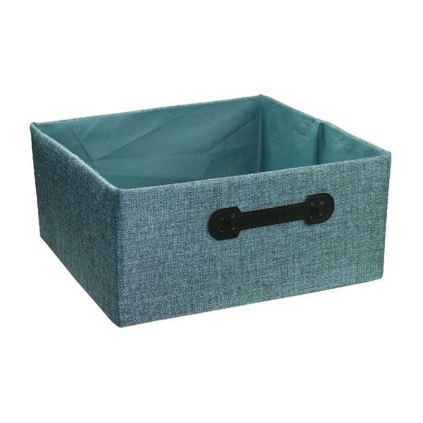 Úložný box Ordinett Halfcube Water, 32x32cm