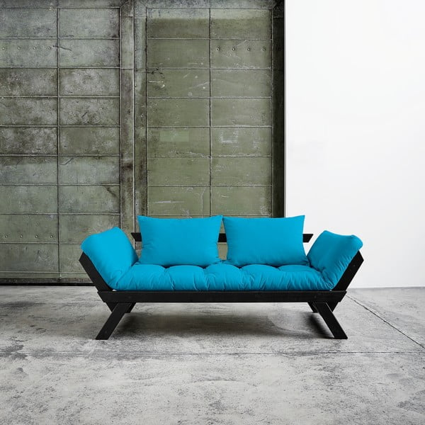 Canapea Karup Bebop Black/Horizon Blue