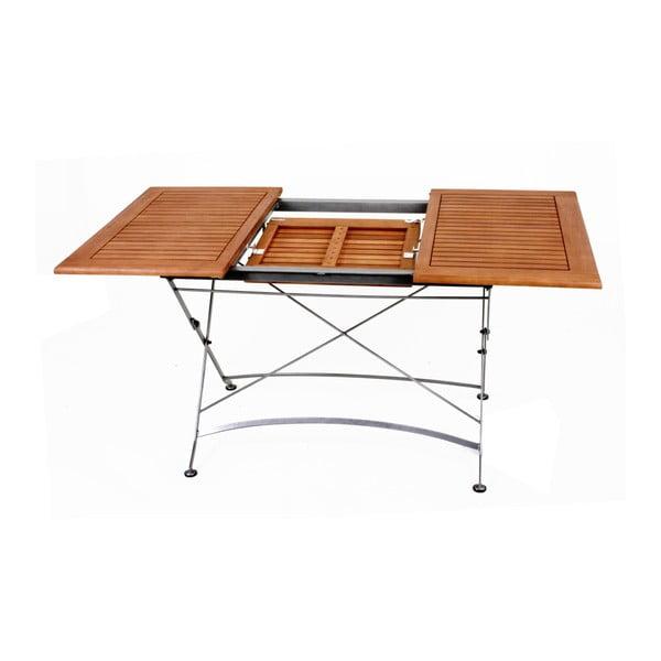 Zahradní rozkládací stůl z eukalyptového dřeva ADDU Vienna