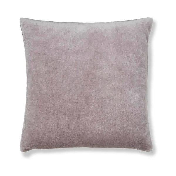 Šedohnědý povlak na polštář Catherine Lansfield Basic Cuddly, 55x55cm