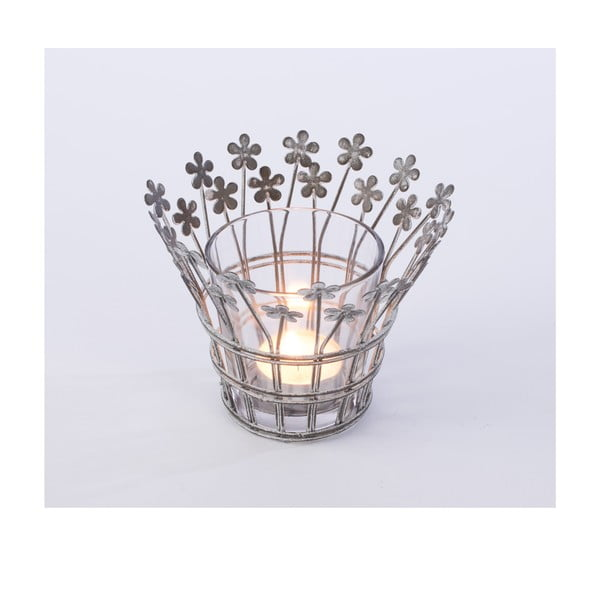 Kovový svícen Votive, 15x15 cm