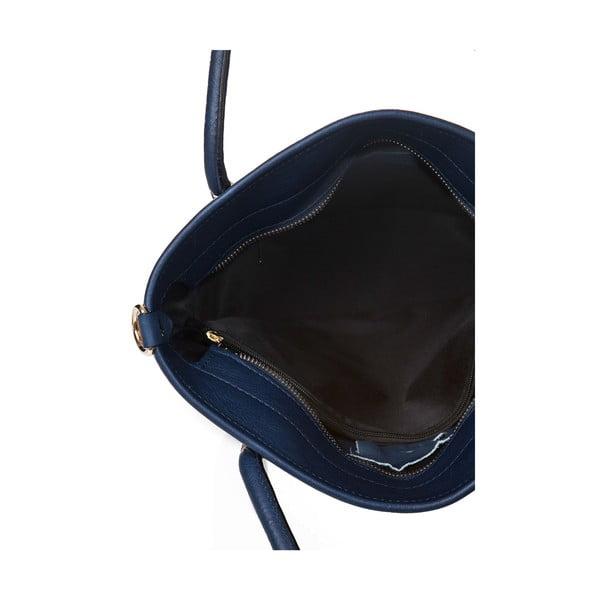 Kožená kabelka Markese 6398 Blue