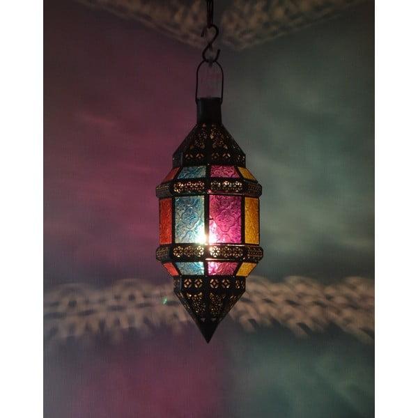 Prosklené stínítko Goa 15x38 cm