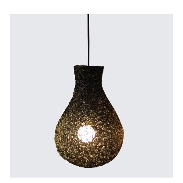 Závěsná lampa Lampion, černá
