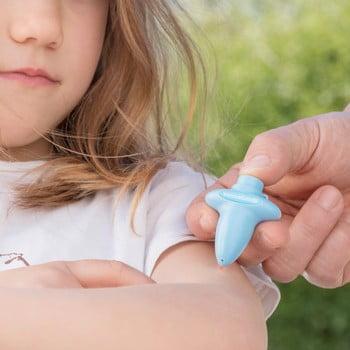 Calmant pentru înțepăturile de țânțar InnovaGoods Mosquito Bite Soother, albastru poza