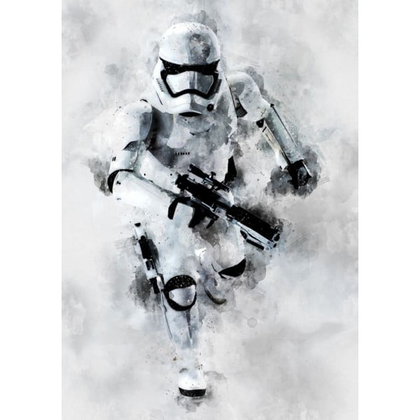 Star Wars 77 poszter, 30 x 40 cm - Blue-Shaker