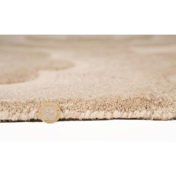 Vlněný koberec Realm 90x150 cm, přírodní