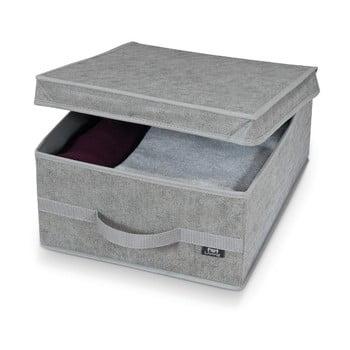 Cutie pentru depozitare Domopak Stone Medium, 45x35cm, gri de la Domopak