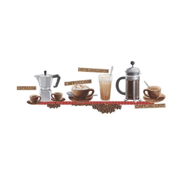 Dekorativní samolepka Káva