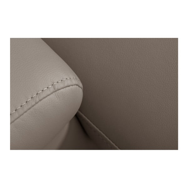 Canapea cu șezut pe partea stângă Florenzzi Bossi, maroniu gri