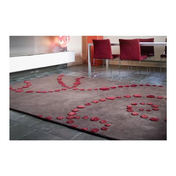 Vlněný koberec Michele, 60x120 cm