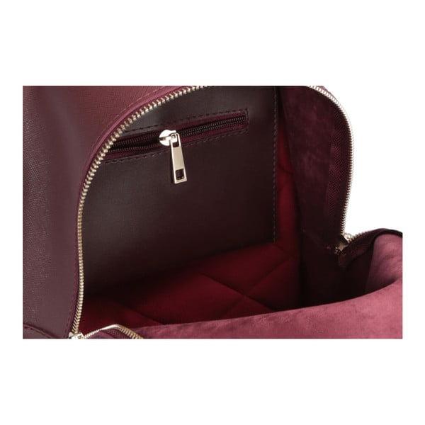 Tmavě červený batoh Beverly Hills Polo Club Fran