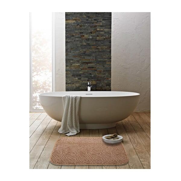 Koupelnová předložka Liana 50x60 cm, hnědá