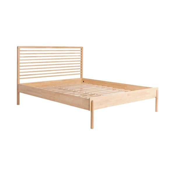 Rám postele z masivního březového dřeva Kiteen Lennu, 160x200cm