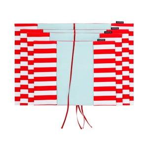 Obal na knihu M+, červený pruh široký