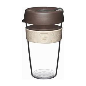 Cestovní hrnek s víčkem KeepCup Clear Edition Aroma, 454 ml