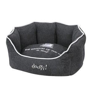 Psí pelíšek Doggy Kingdom, černý