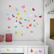 Sada nástěnných samolepek Butterflies