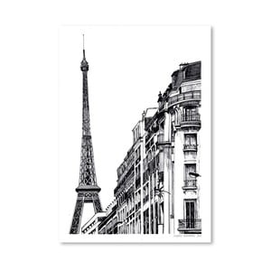 Plakát Paris, 30x42 cm