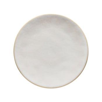 Platou din gresie ceramică Costa Nova Roda, ⌀ 22 cm, alb imagine