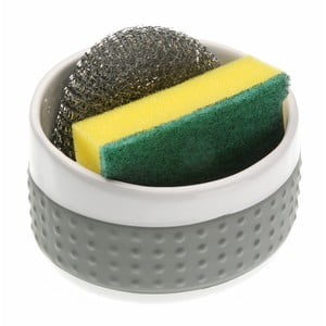 Šedý držák na mycí pomůcky Versa Grey Support