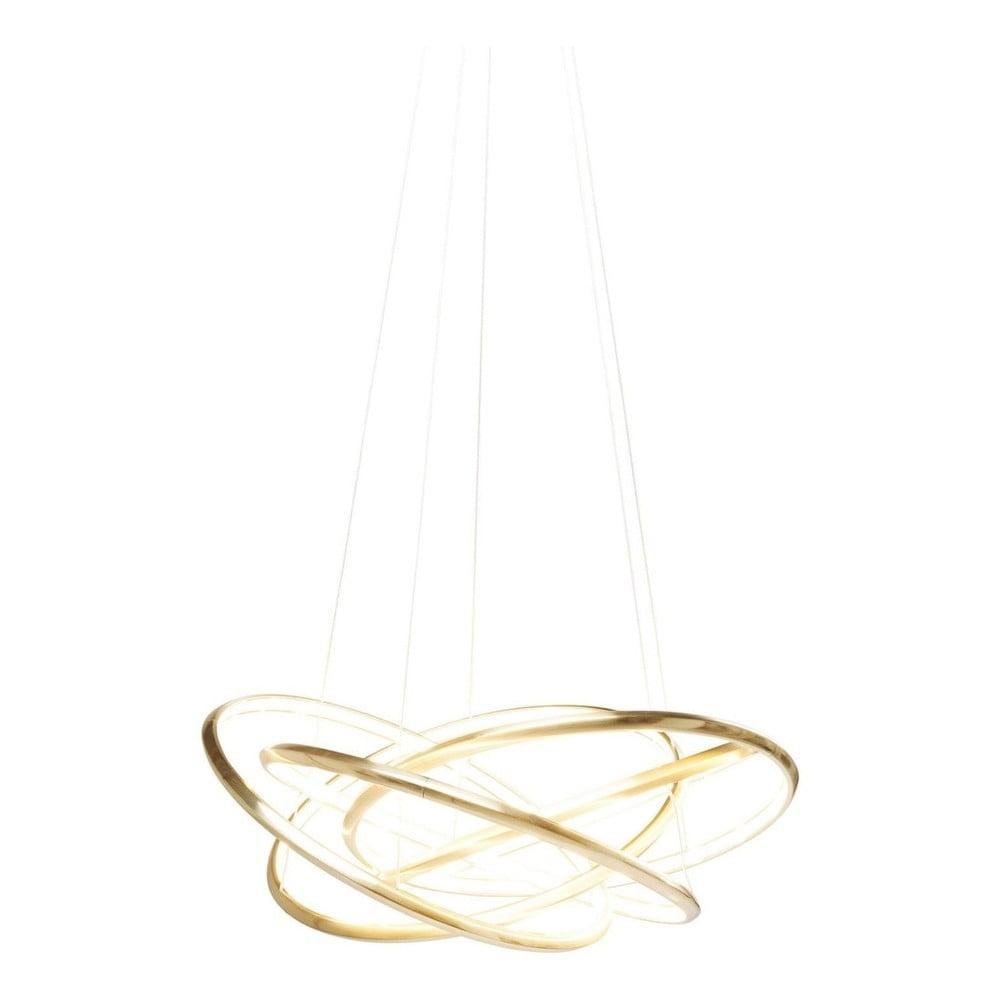 Závěsné svítidlo ve zlaté barvě Kare Design Saturn