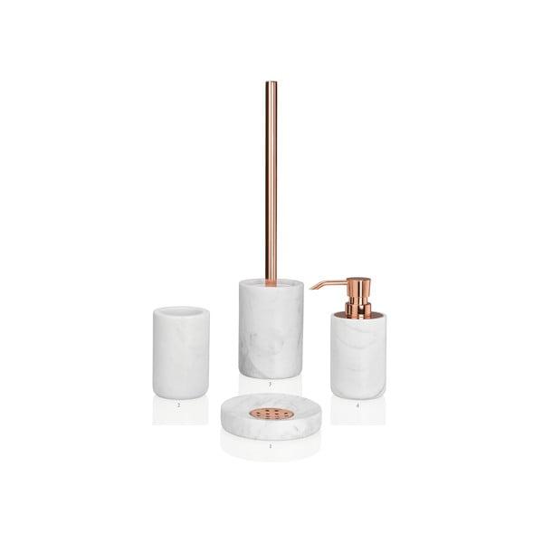 Toaletní kartáč Marble Copper