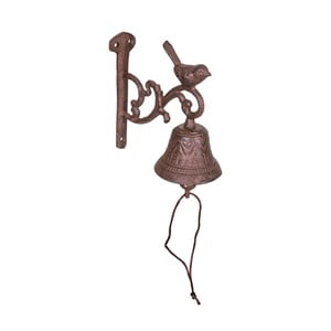 Litinový dekorativní zvonek Antic Line Birdie