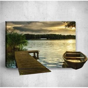 Nástěnný 3D obraz Mosticx Dock, 40 x 60 cm