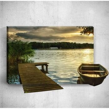 Tablou de perete 3D Mosticx Dock, 40 x 60 cm