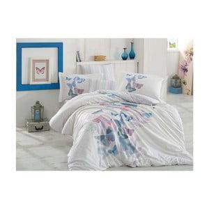 Lenjerie de pat cu cearșaf Sueno, 200 x 220 cm