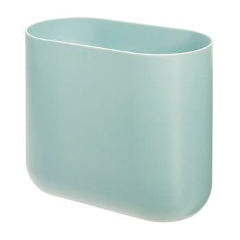 Coș de gunoi iDesign Slim Cade, verde