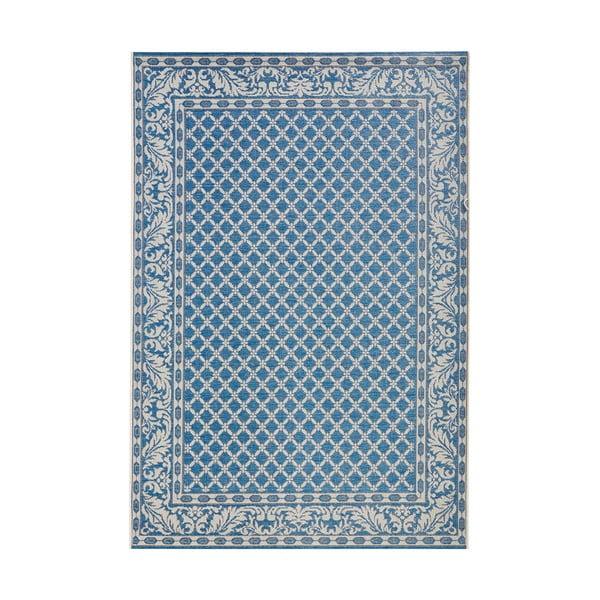 Niebiesko-kremowy dywan odpowiedni na zewnątrz Bougari Royal, 160x230 cm