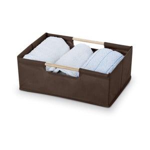 Hnědý úložný box Bonita Basket
