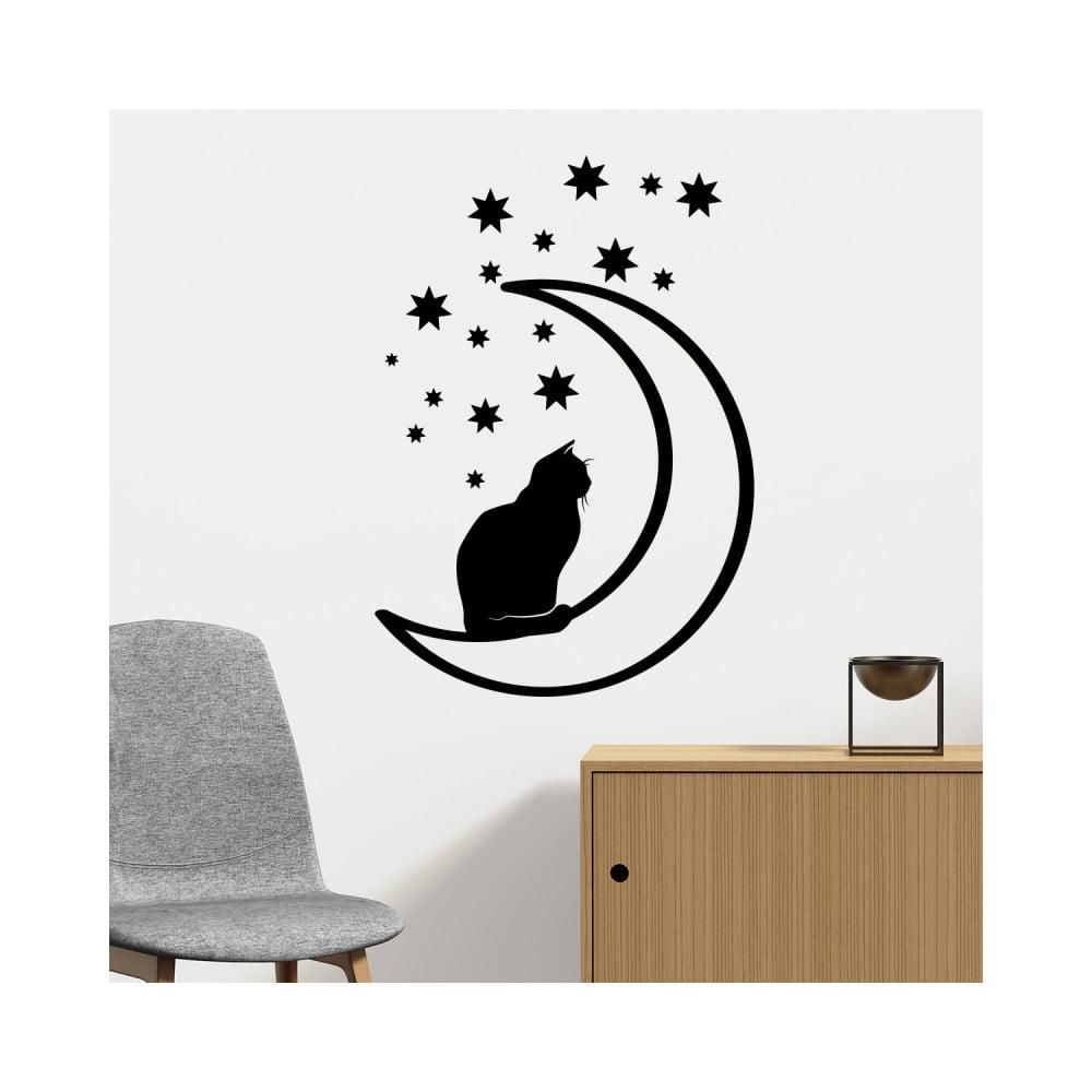 Samolepka Fanastick Cat On The Moon