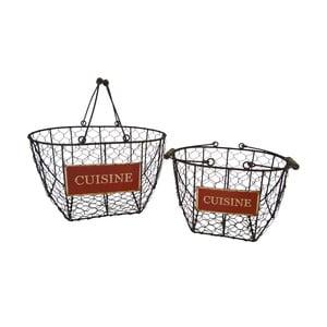 Sada 2 košíků Antic Line Cuisine Basket